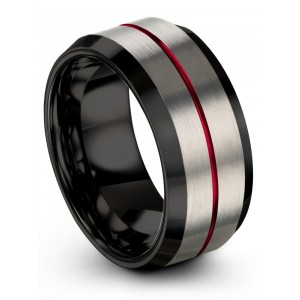 Galena Gray Dark Knight Crimson Allure 10mm