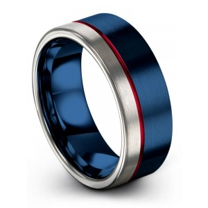 Galena Gray Empire Blue Crimson Allure 8mm