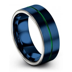 Galena Gray Empire Blue Emerald Zing 8mm