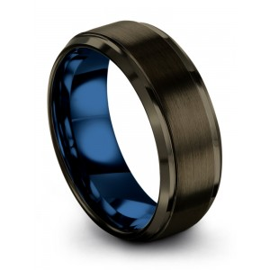 Chroma Color Collection Moonlit Graphite Empire Blue 8mm