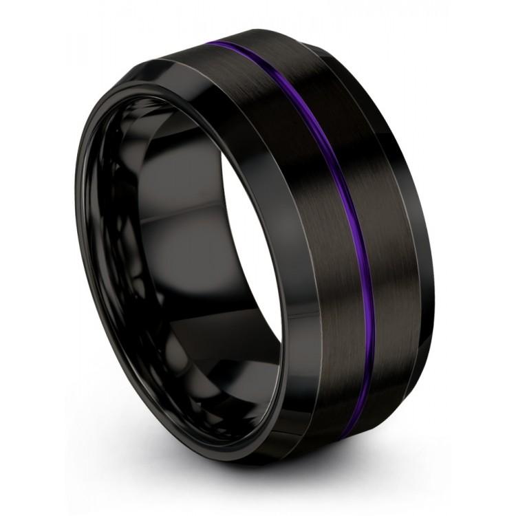 Dark Knight Royal Bliss 10mm Wedding Band