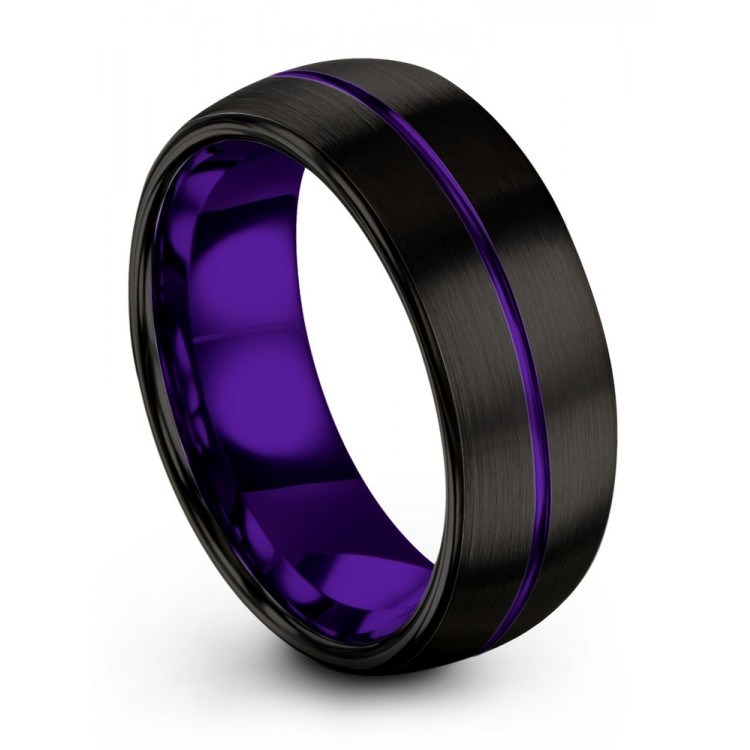 Dark Knight Royal Bliss 8mm Latest Wedding Ring