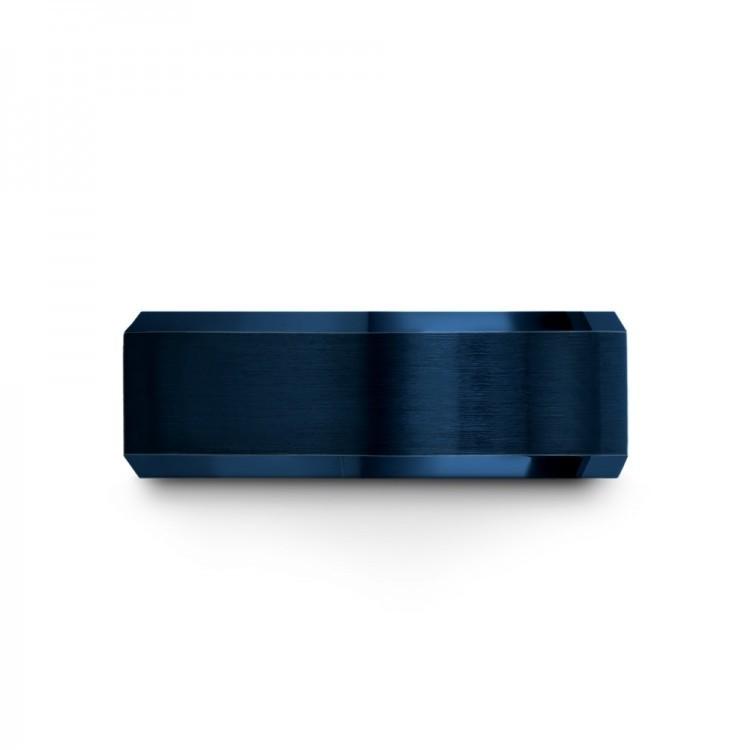 Empire Blue Crimson Allure 8mm Latest Wedding Rings