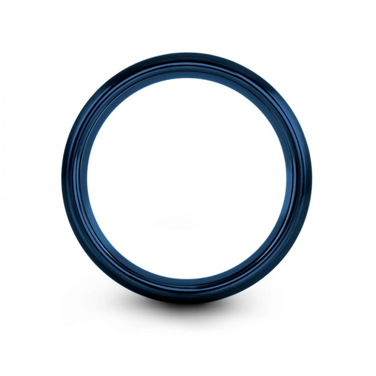Empire Blue Royal Bliss 8mm Latest Mens Wedding Band
