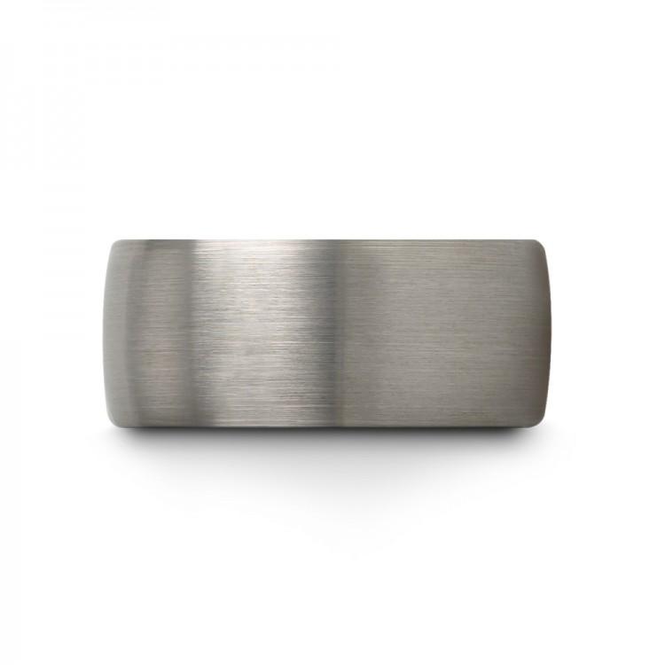 Galena Gray Aqua Teal 10mm Cheap Wedding Ring