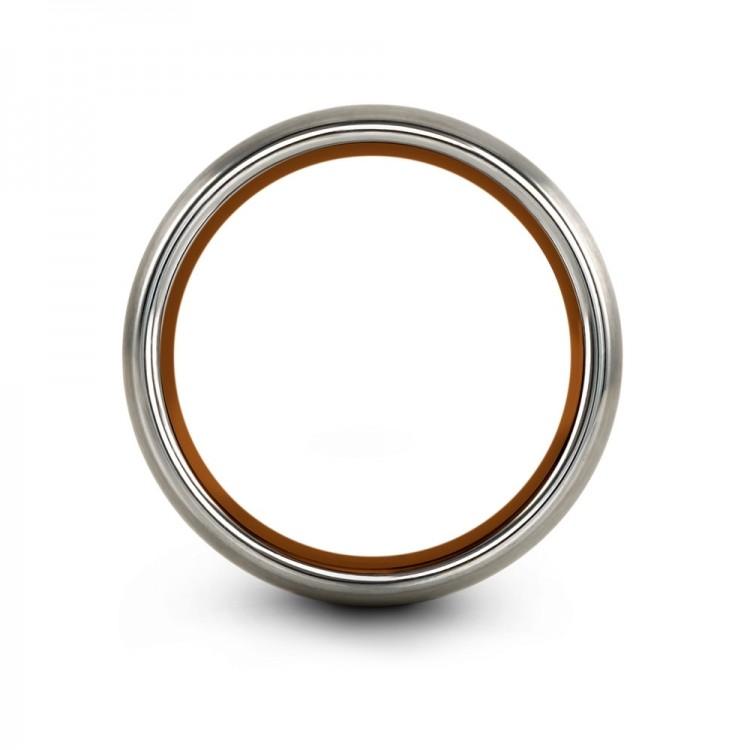 Galena Gray Copper Sun 8mm Latest Women Wedding Ring
