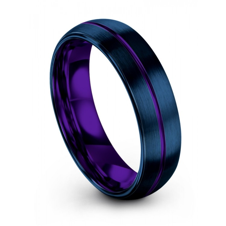 Empire Blue Royal Bliss 6mm Wedding Band