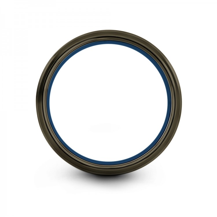 Moonlit Graphite Empire Blue 8mm