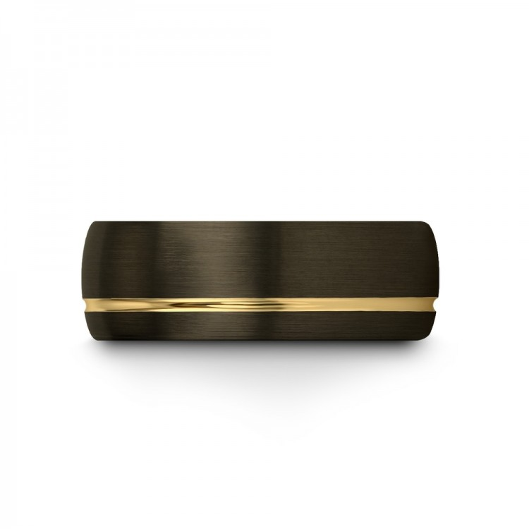 Yellow Gold 8mm Wedding Ring